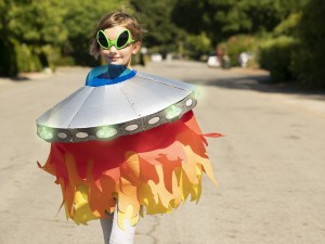 Light-Up Alien Spaceship Costume