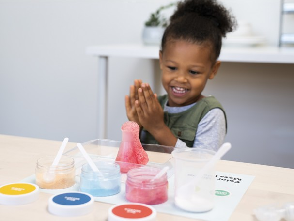 Unique STEM Gifts for Kids 2-4 Year Olds: Colorful Chemistry