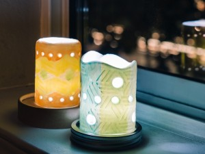 Ceramic Luminaries