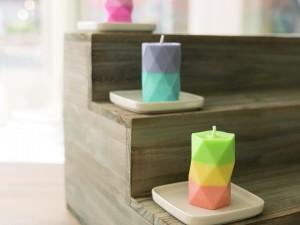 Geometric Candles