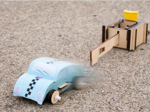 Atlas Crate car DIY and launcher.