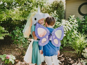 Light-Up Wings Costume